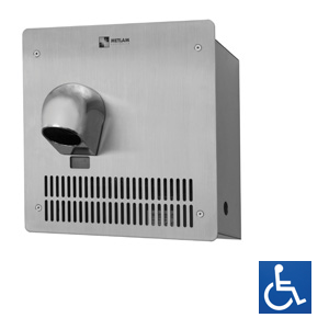HK-2400-SAR Auto Nozzle Recessed Hand Dryer
