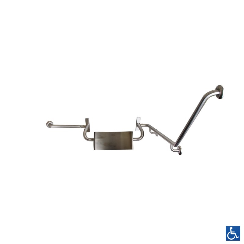 MLR121LH_VPSET LH Grab Rail & Backrest Set