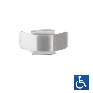 ML212B Double Robe Hook - SS Bright Finish