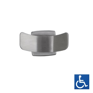 ML212S Double Robe Hook - SS Satin Finish