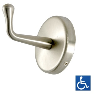 ML216B Concealed Fix HD Coat Hook - SS Bright Finish