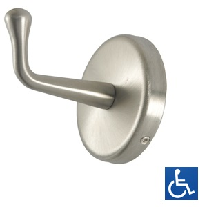 ML216S Concealed Fix HD Coat hook - SS Satin Finish