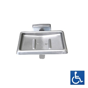 ML230B Soap Dish With Drain - SS Bright Finish
