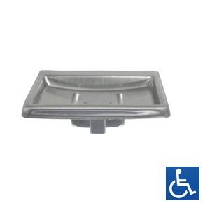 ML231 Soap Dish with Drain - SS Satin Finish