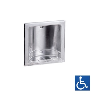 ML232S Recessed Soap Dish - SS Satin Finish