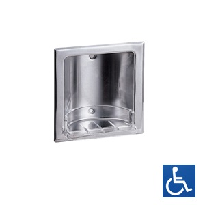 ML232B Recessed Soap Dish - SS Bright Finish
