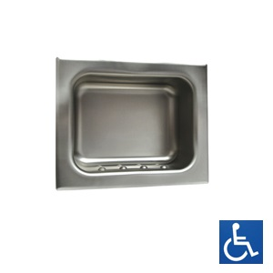 ML237_1 Recessed Heavy Duty Soap Holder