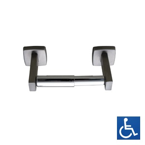 ML255 Single Toilet Roll Holder - Stainless Steel