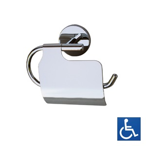 ML3355B Single Toilet Roll Holder with Hood