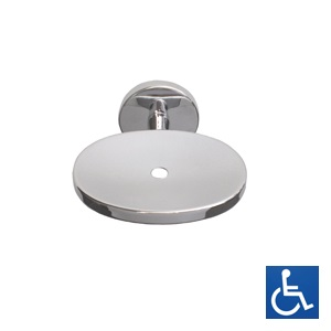 ML3359B_XH Soap Dish with Drain Hole - Bright Chrome