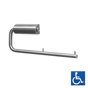 ML4135_2 Double Toilet Roll Holder - Stainless Steel