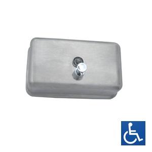 ML600AS Horizontal Soap Dispenser - Stainless Steel