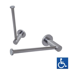 ML6226 Lachlan Chrome Plated Single or Spare Toilet Roll Holder