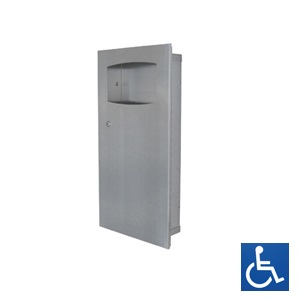 ML710R REC Recessed Waste Receptacle