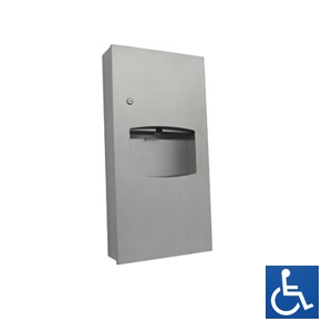 ML710REC Recessed Paper Towel Dispenser & Waste Receptacle