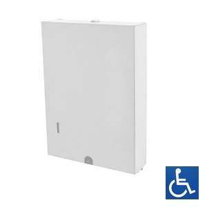 ML727W Paper Towel Dispenser - White Powder Coat