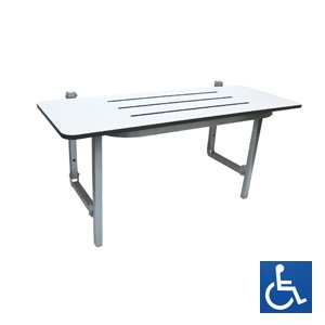 ML995CL Folding Shower Seat - Compact Laminate
