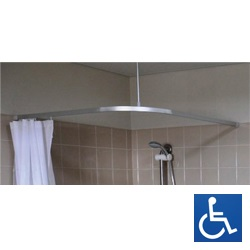 ML CTS Shower Curtain Track System